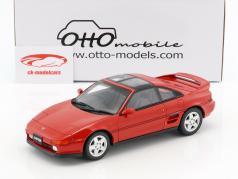 Toyota MR2 year 1992 super red 1:18 OttOmobile