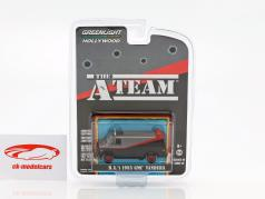 B.A.'s GMC Vandura 1983 TV-Serie il A-Team (1983-87) 1:64 Greenlight