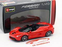 Ferrari LaFerrari Aperta rot 1:43 Bburago