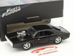 Dom's Dodge Charger R/T Fast and Furious Five 2011 black 1:32 Jada Toys