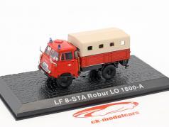 Robur LO 1800-A LF8-STA vigili del fuoco 1:72 Altaya