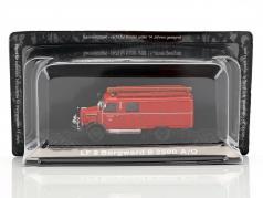 Borgward B2500 A/O LF vigili del fuoco Ismaning 1:72 Altaya