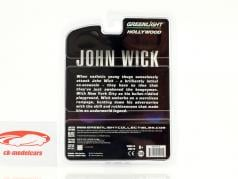 Dodge Charger Movie John Wick black 1:64 Greenlight