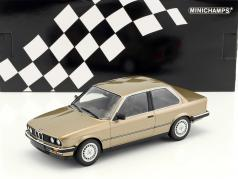 BMW 323i year 1982 brown metallic 1:18 Minichamps