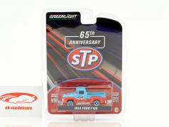Ford F100 STP year 1954 red / blue 1:64 Greenlight