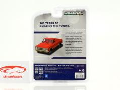 Chevrolet C10 Pick-up year 1968 red 1:64 Greenlight
