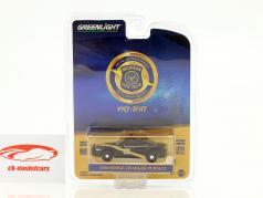 Dodge Charger Pursuit Michigan State Police anno di costruzione 2016 nero / giallo 1:64 Greenlight