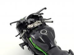 Kawasaki Ninja H2 R dark gray 1:12 Maisto