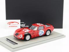 Alfa Romeo TZ2 #126 4th Targa Florio 1966 Pinto, Todaro 1:18 Tecnomodel