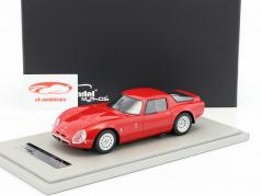 Alfa Romeo TZ2 Press version 1965 red 1:18 Tecnomodel