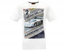Stefan Bellof T-Shirt record lap 6.11,13 min With frontprint White
