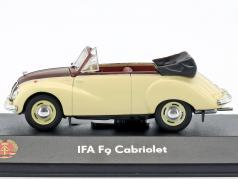 IFA F9 Cabriolet 468 beige / brown 1:43 Atlas