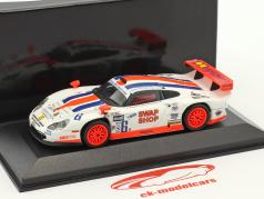 Porsche 911 GT1 #6 24h Daytona 2003 Gunnar Racing 1:43 Minichamps false overpack