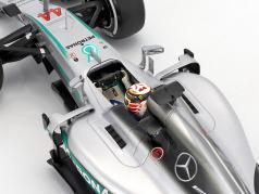 Lewis Hamilton Mercedes F1 W07 Hybrid #44 2e Australie GP F1 2016 1:18 Minichamps