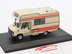 Citroen C25 Pilote R 470 camper year 1984 beige / red 1:43 Atlas