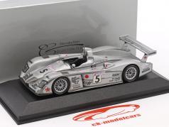 Audi R8 #5 24h LeMans 2002 Kato, Dalmas, Ara 1:43 Minichamps falso sovrimballaggio