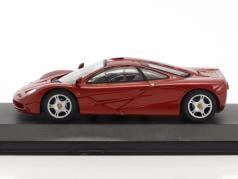 McLaren F1 Roadcar red metallic 1:43 Minichamps false overpack