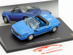 Lamborghini Jalpa Spyder année de construction 1987 bleu 1:43 Leo Models
