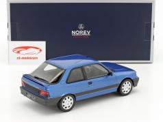Peugeot 309 GTi 16V Baujahr 1991 blau metallic 1:18 Norev