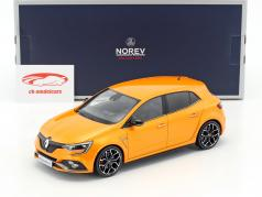 Renault Megane R.S. year 2017 tonic orange 1:18 Norev