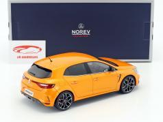 Renault Megane R.S. year 2017 tonic orange 1:18 Norev