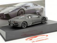 Lamborghini Reventon année de construction 2007 terne noir 1:43 Leo Models