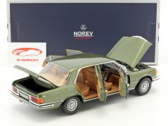 Mercedes-Benz 450 SEL 6.9 (W116) year 1976 green metallic 1:18 Norev