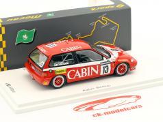 Honda Civic EF #13 vincitore Gr.C Macau Guia Race 1988 Kazuo Shimizu 1:43 Spark