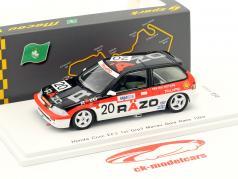 Honda Civic EF3 #20 vincitore Gr.C Macau Guia Race 1989 Tomohiko Tsutsumi 1:43 Spark