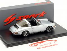 Porsche 911 2.4S Targa Baujahr 1973 silber 1:43 Spark