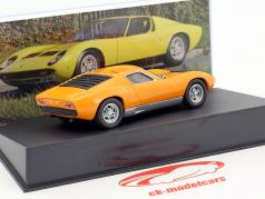 Lamborghini Miura P400 année de construction 1966 orange 1:43 Leo Models