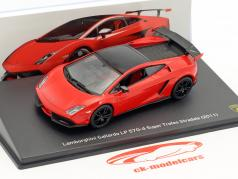 Lamborghini Gallardo LP 570-4 Super Trofeo Stradale year 2011 red / black 1:43 Leo Models