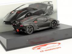 Lamborghini Sesto Elemento année de construction 2010 noir 1:43 Leo Models