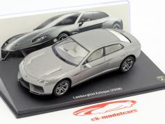 Lamborghini Estoque année de construction 2008 argent 1:43 Leo Models