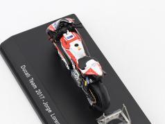 Jorge Lorenzo Ducati Desmosedici GP17 #99 MotoGP 2017 1:43 Spark