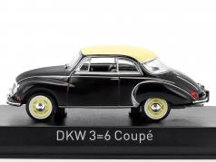 DKW 3=6 coupé année de construction 1958 noir 1:43 Norev