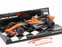 Stoffel Vandoorne McLaren MCL32 #2 monaco GP formula 1 2017 1:43 Minichamps