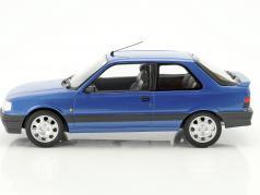Peugeot 309 GTi 16V anno di costruzione 1991 blu metallico 1:18 Norev