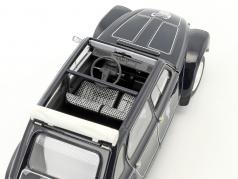 Citroen Dyane 6 Caban con removibile softtop anno di costruzione 1977 nero 1:18 Norev