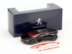 Peugeot Vision GT Baujahr 2015 schwarz 1:64 Norev