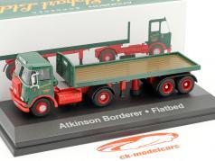 Atkinson Borderer Flatbed Stobart green / red 1:76 Atlas