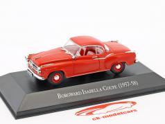 Borgward Isabella coupe year 1957-1958 red 1:43 Hachette