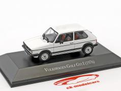 Volkswagen VW Golf GTI I year 1976 white 1:43 Hachette