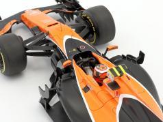 Stoffel Vandoorne McLaren MCL32 #2 australien GP formule 1 2017 1:18 Spark