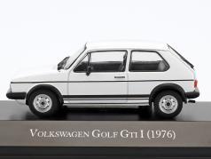 Volkswagen VW Golf GTI I year 1976 white 1:43 Hachette