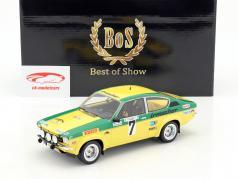 Opel Kadett C GT/E #7 Sieger Rallye Hessen 1976 Smolej, Geistdörfer 1:18 BoS-Models