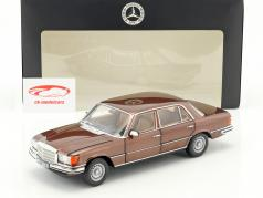 Mercedes-Benz 450 SEL 6.9 (W116) année de construction 1976-1980 milan brun métallique 1:18 Norev