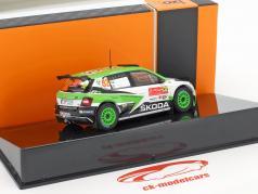 Skoda Fabia R5 #32 Class Winner Rallye Portugal 2017 Tidemand, Andersson 1:43 Ixo