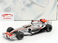 Juan Pablo Montoya McLaren MP4-21 #4 formula 1 2006 1:18 HotWheels