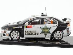 Mitsubishi Lancer Evo X #0 Safety Car Geko Ypres Rallye 2011 1:43 Ixo